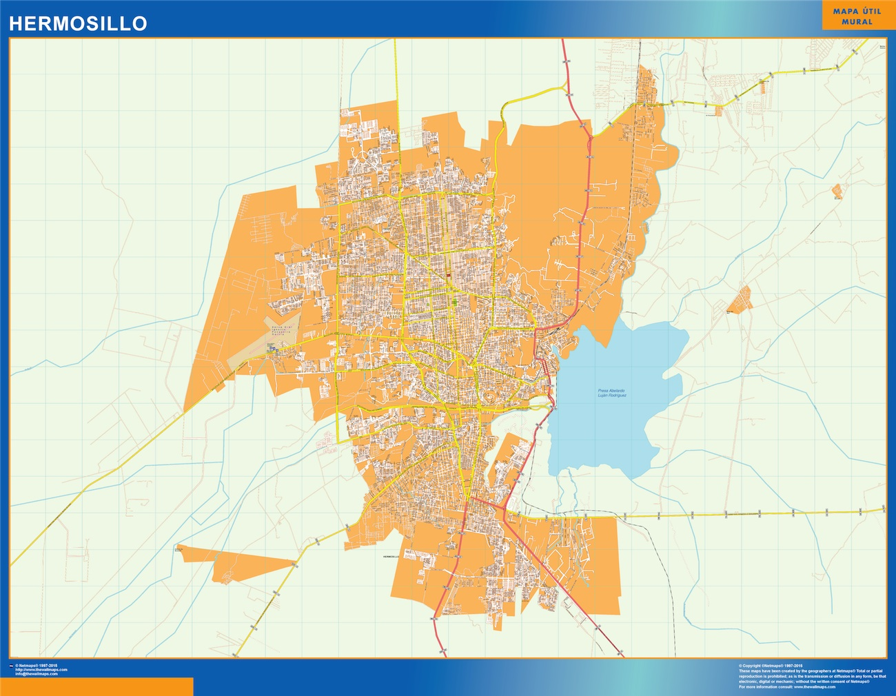 Mapa Hermosillo