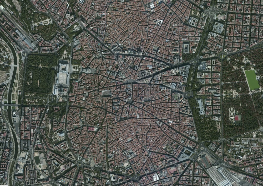 Madrid Foto Satelite